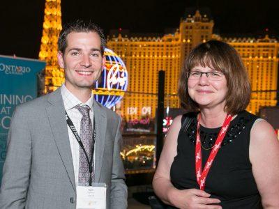 Ryan at Las Vegas Reception