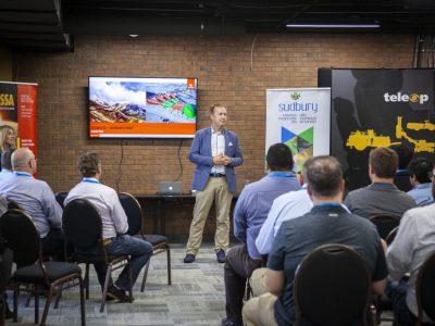 Paul Lefevbre Giving a Presentation