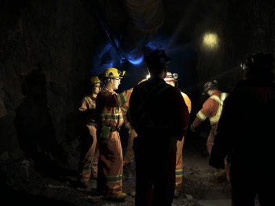 Miner Conversation Underground