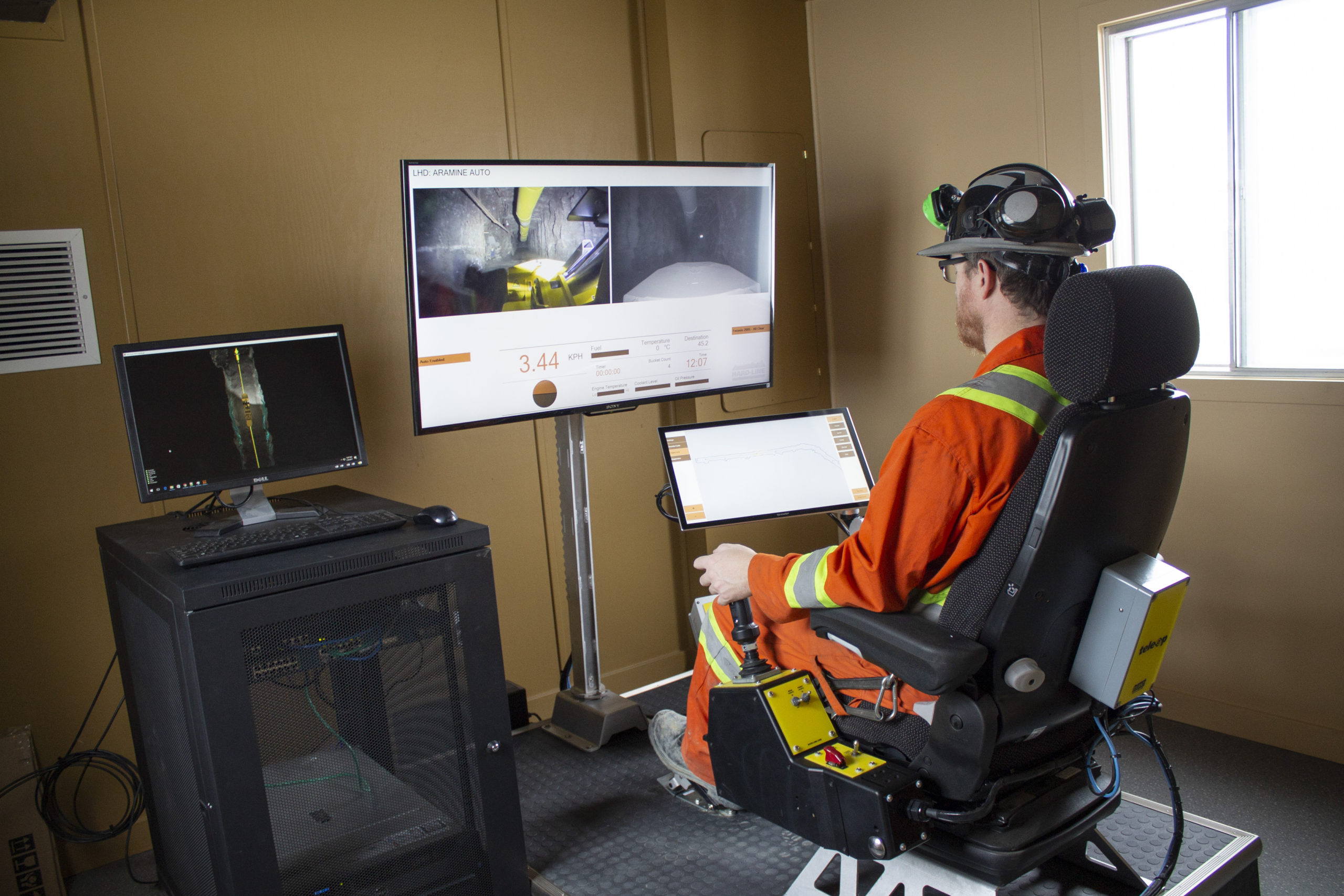 TeleOp Auto being used at NORCAT