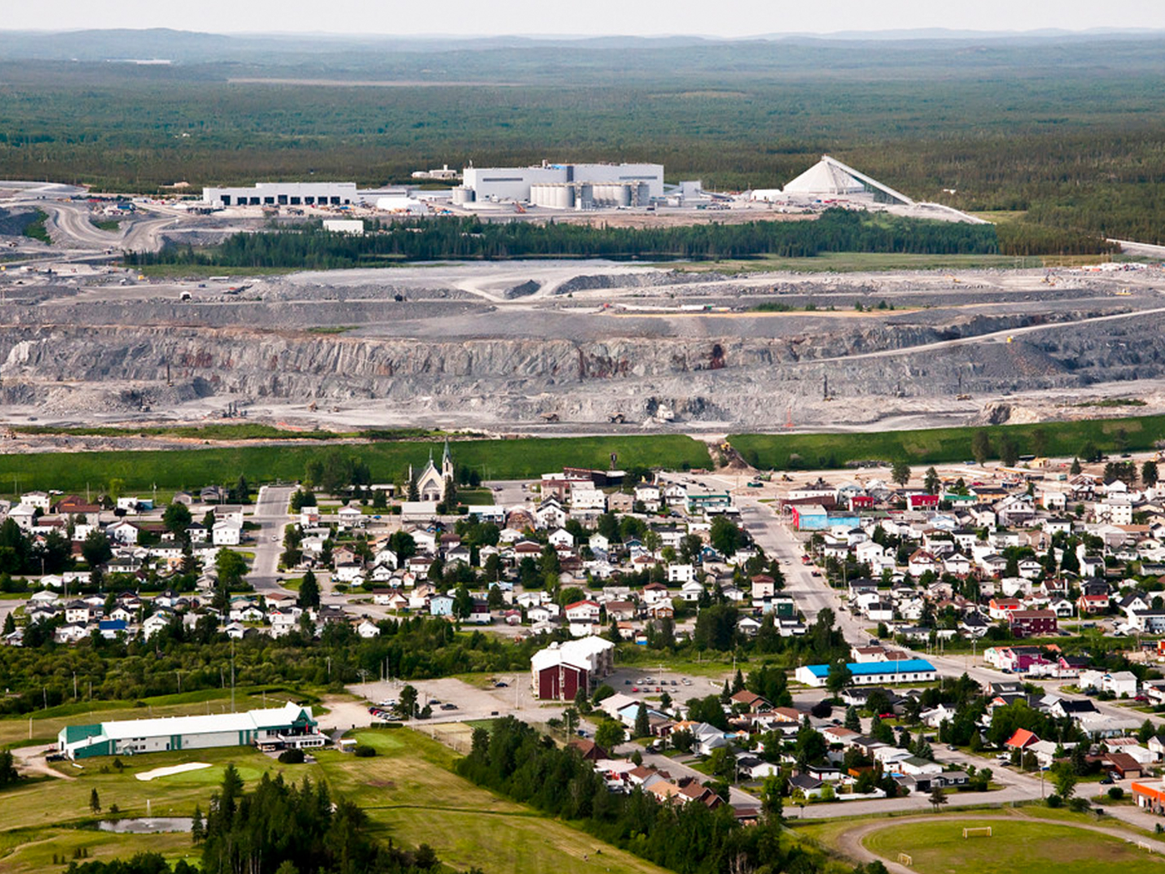 Canadian Malartic Mine