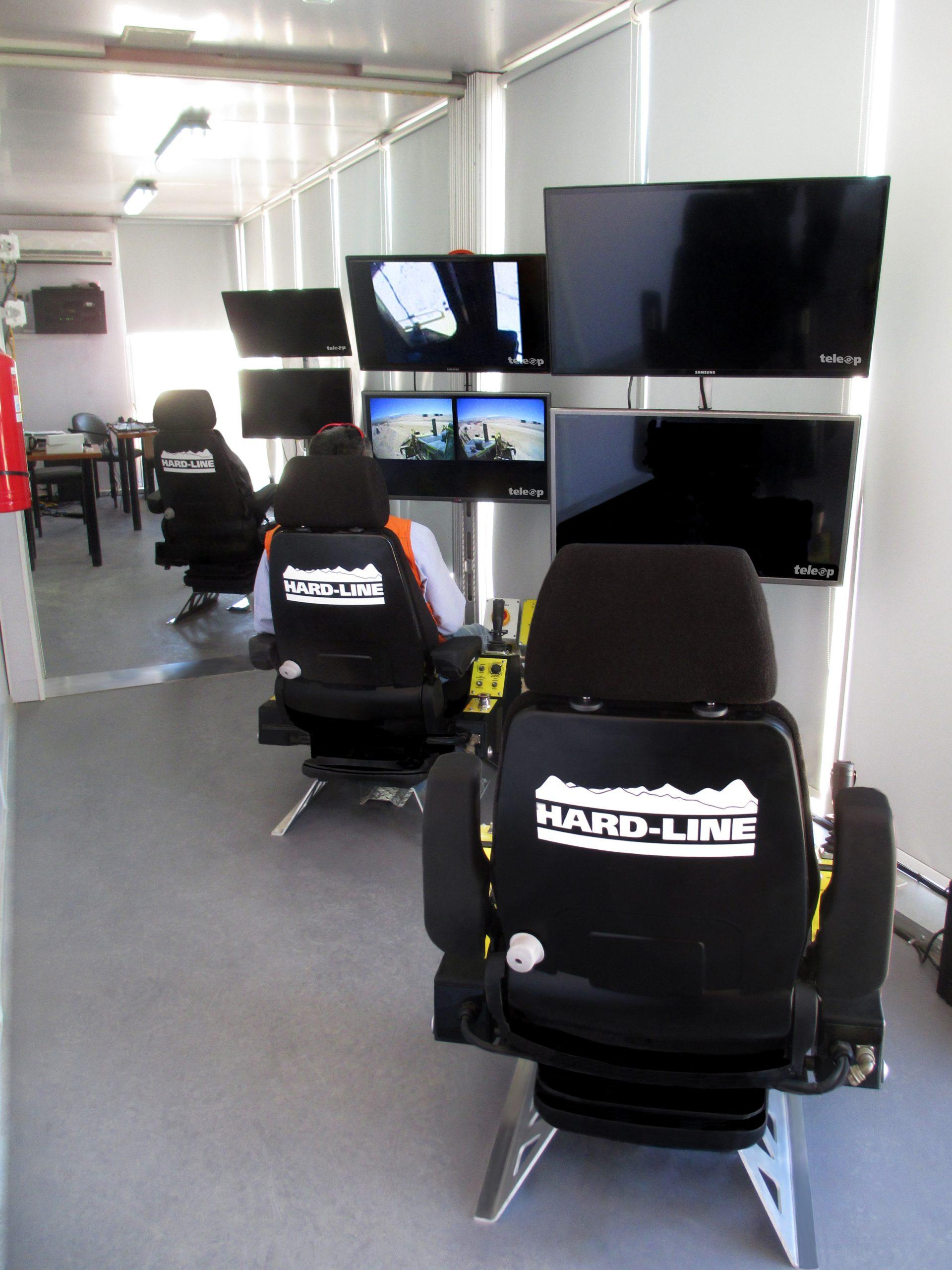 TeleOp Control Station Interior
