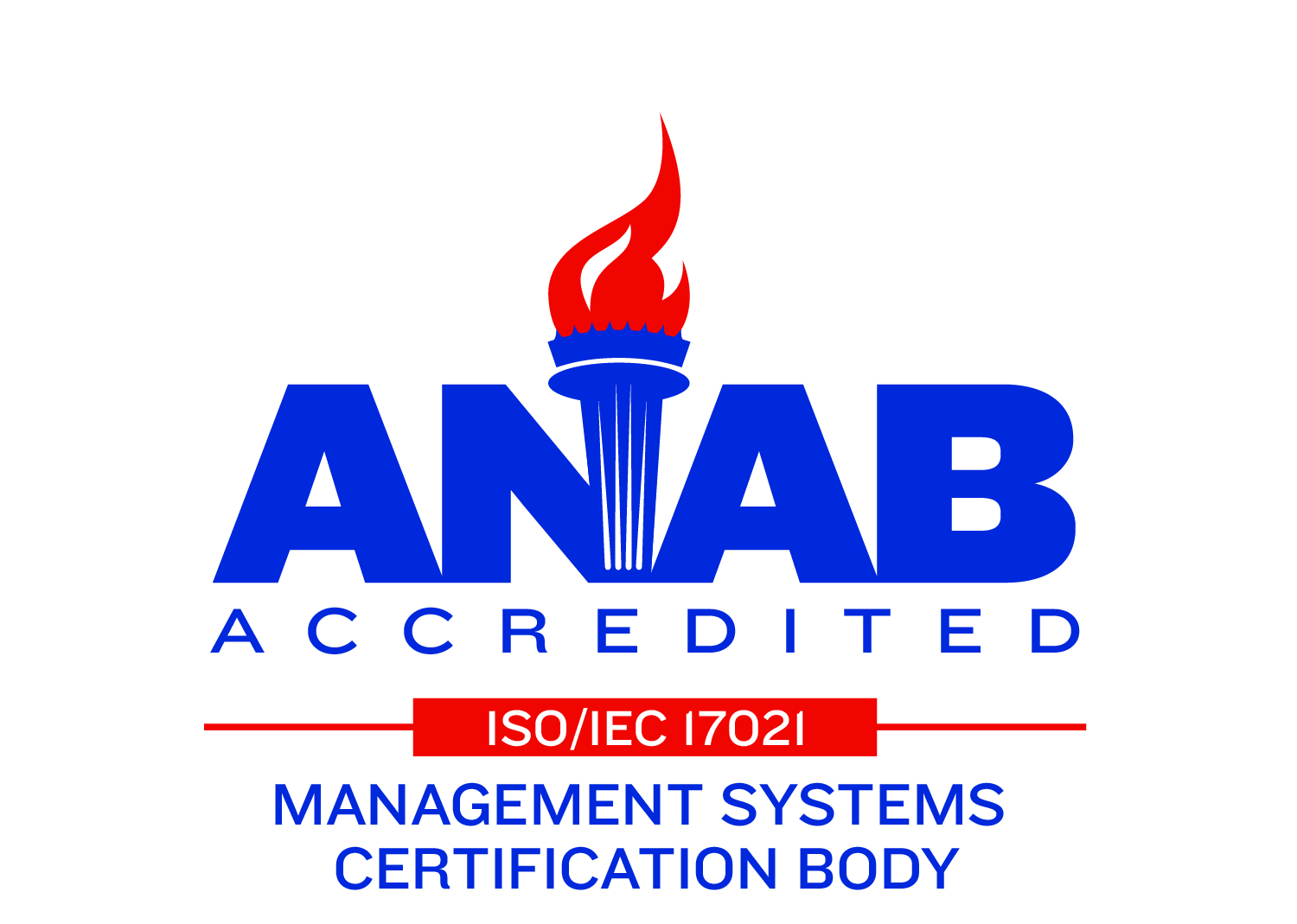 ANAB Management Systems Certification Body Logo