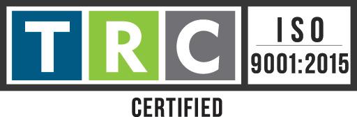 TRC ISO 9001:2015 Logo Certified