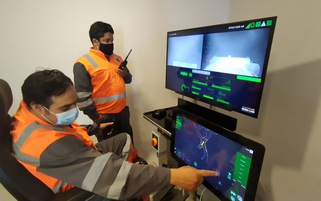 Pucobre and HARD-LINE team up to test semi-autonomous technology for underground mining