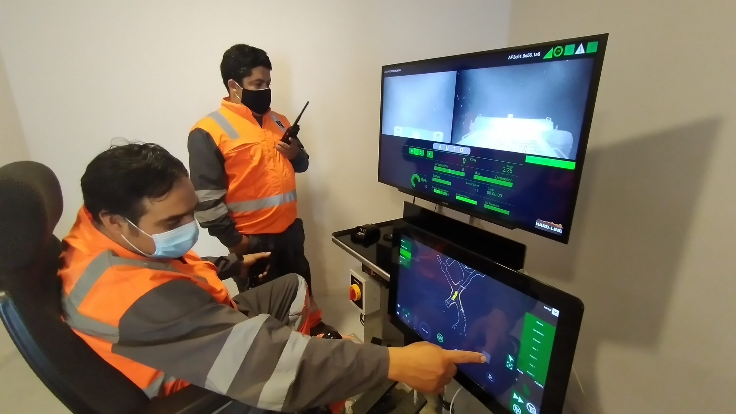 Pucobre Team Interacting with TeleOp