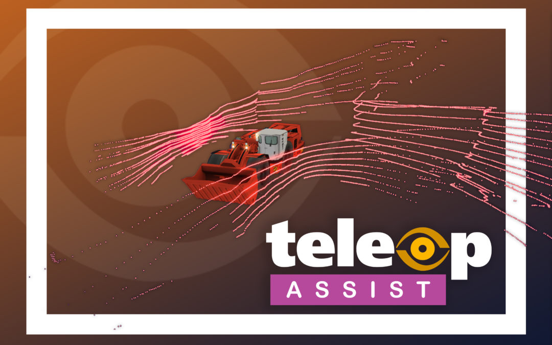 HARD-LINE features TeleOp Assist: new & advanced semi-autonomous mining technology that increases production and safety