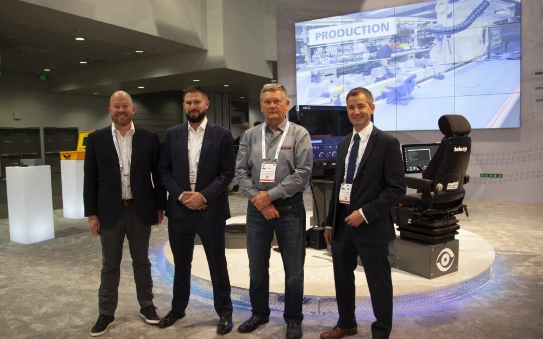 HARD-LINE y Hexagon anuncian una alianza de distribución internacional para modernizar la seguridad y la automatización minera